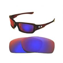 NEW POLARIZED CUSTOM  LIGHT +RED LENS FOR OAKLEY FIVES SQUARED SUNGLASSES